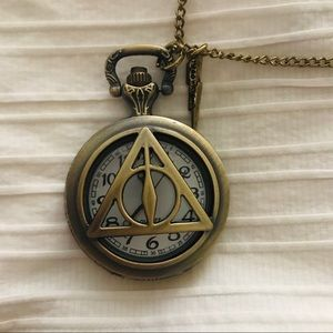 Harry Potter Pocket-watch Necklace